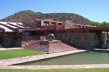 Frank Lloyd Wright Taliesen West Arizona Picture Page